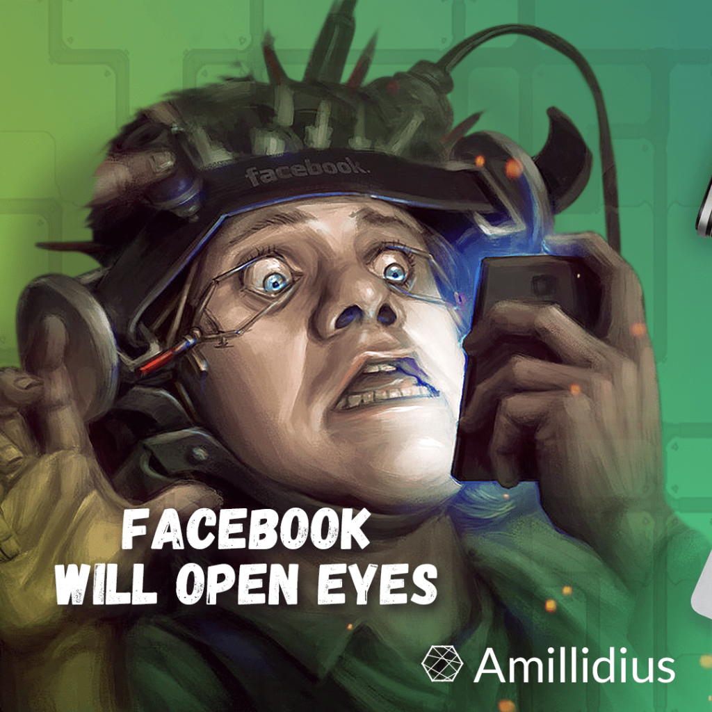 Facebook will open eyes and other stuff from the social network.