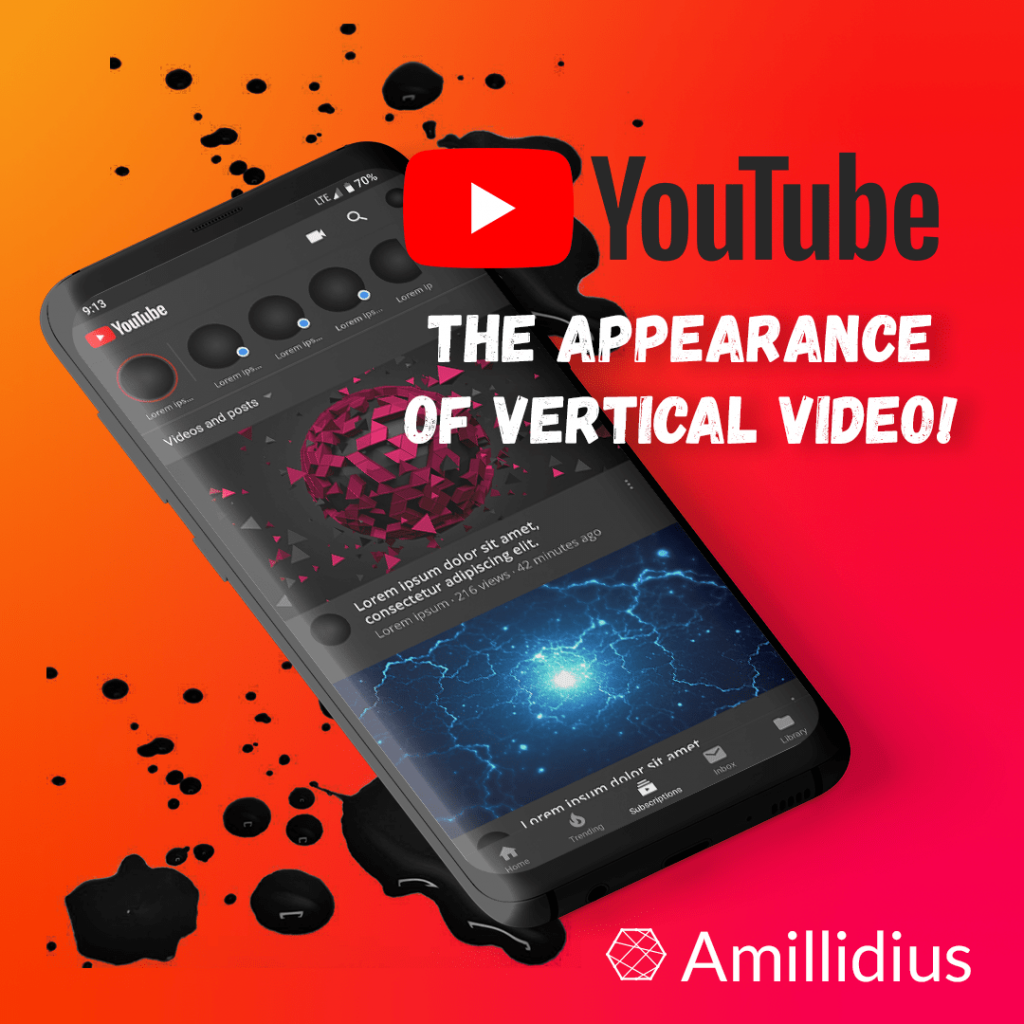 Vertical video on YouTube