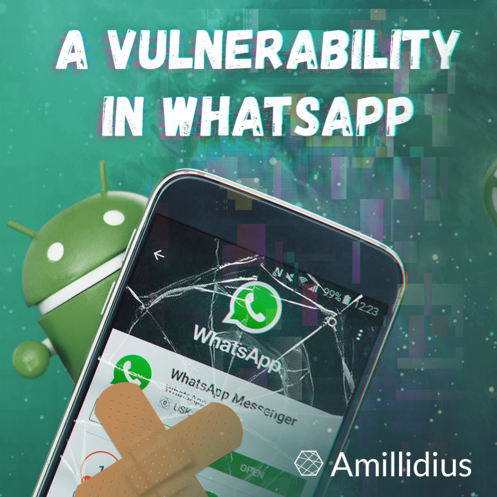 A vulnerability has been found in WhatsApp