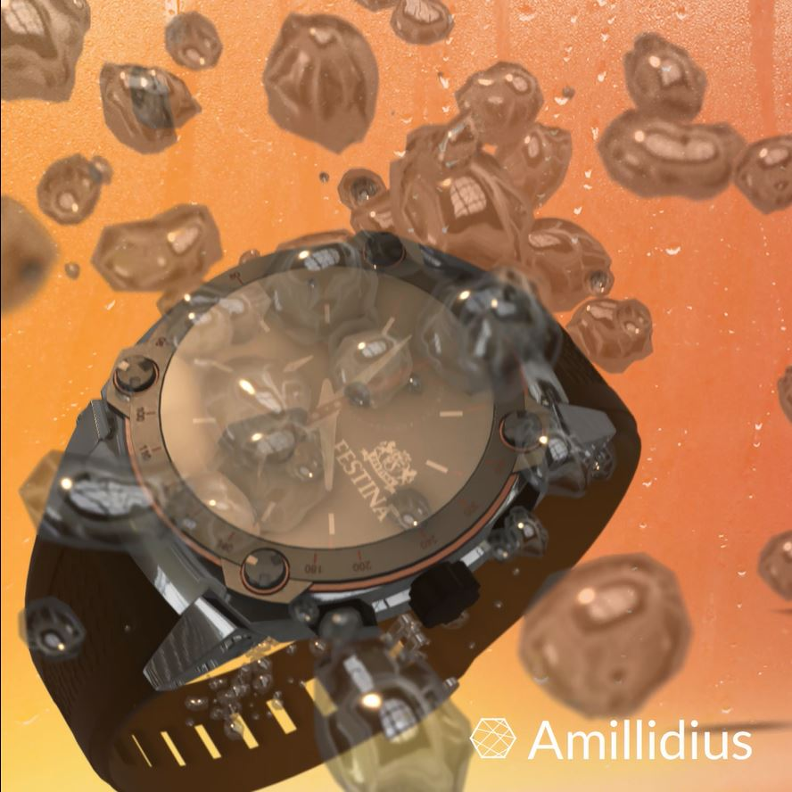 Unquestionable guarantor of quality. Festina watches in the water