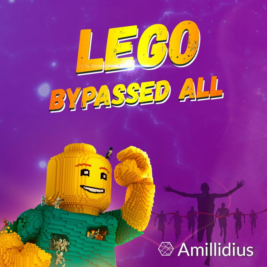 Lego bypassed Apple