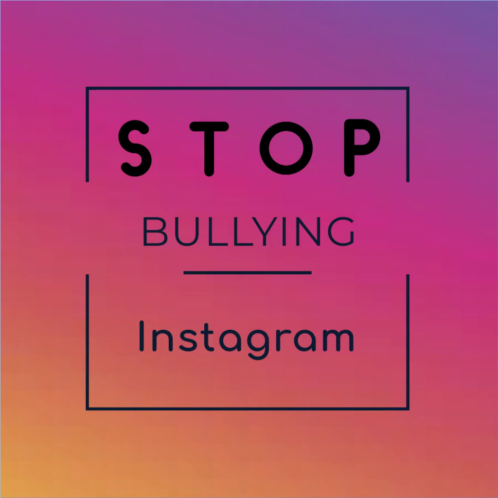 Bullying, instagram