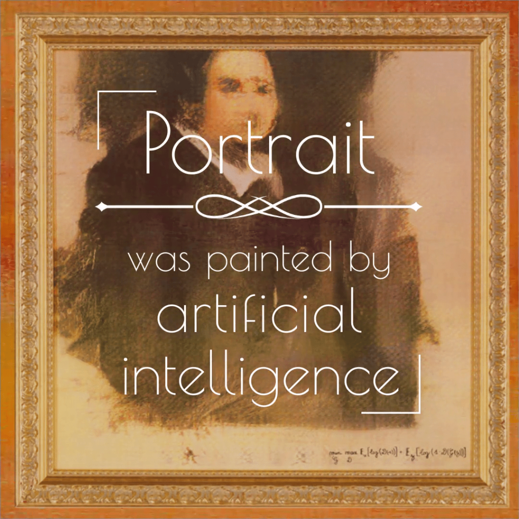 """Portrait of Edmond Belami"" was painted by artificial intelligence"