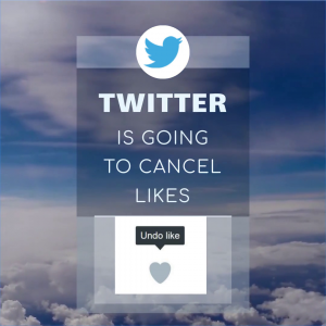Twitter plans to remove likes