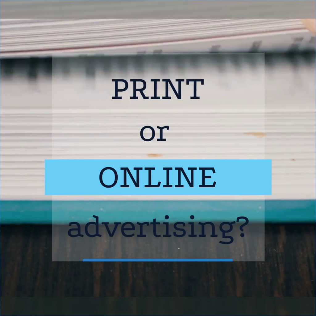 Print and online advertising research