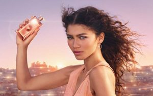 Zendaya in a new Lancome ad